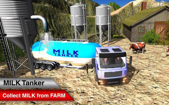 Offroad Milk Tanker Transport screenshot 2