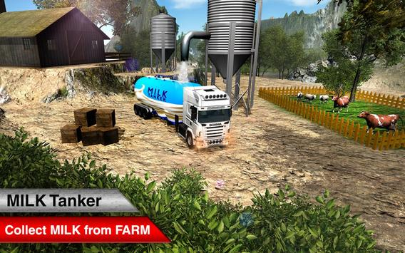 Offroad Milk Tanker Transport screenshot 3