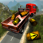 Off-road Mountain Truck Hill icon