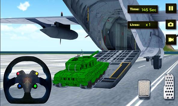 Army Cargo Plane Transporter apk screenshot