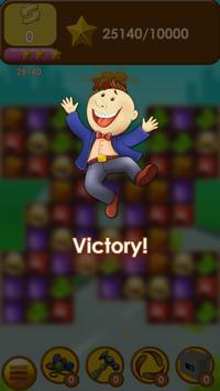 Capitalist Millionaire Match 3 screenshot 2