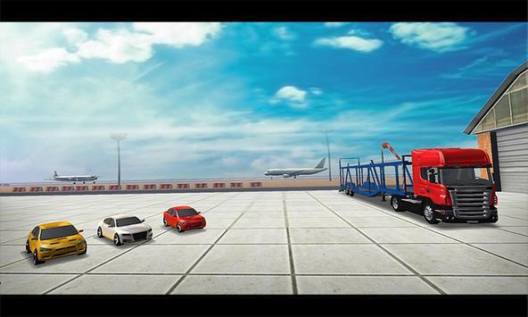 Cargo Plane Car transporter 3D poster
