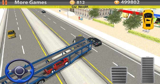Car Transporter 3D 2016 screenshot 5