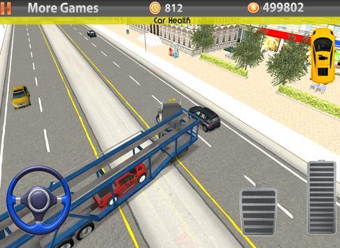 Car Transporter 3D 2016 screenshot 9