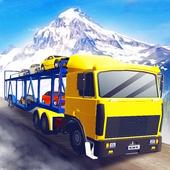 Car Transporter Hill Driver icon