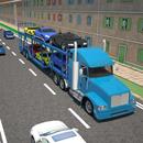 3D Car transport trailer truck APK