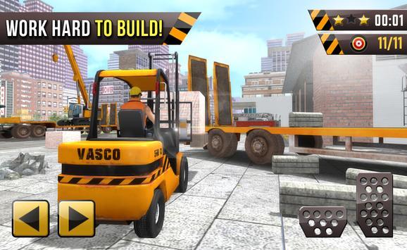 City builder 2017 Fire Station apk screenshot