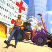 City builder 2017: Hospital icon