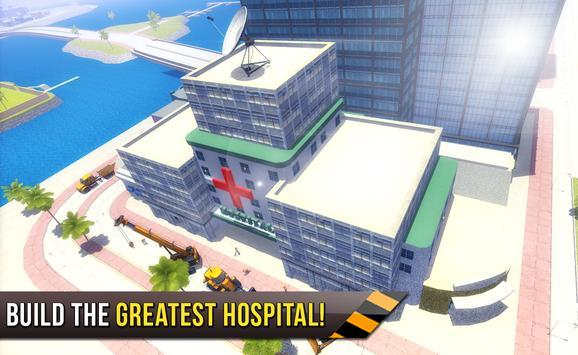 City builder 2017: Hospital screenshot 11