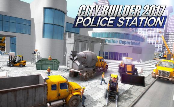 City builder 17 Police Station poster