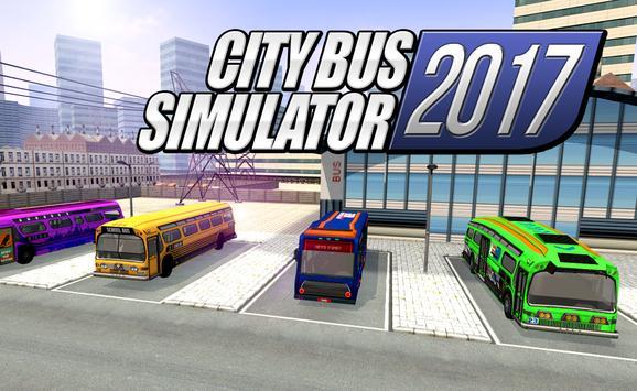 City Bus Simulator 2017 apk screenshot