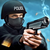 City of Crime Police shoot out icon