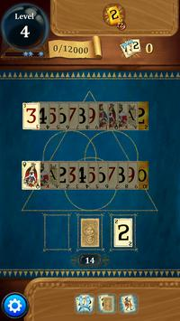 Clash of Cards - Classic Solitaire Games Tripeaks apk screenshot