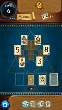 Clash of Cards - Classic Solitaire Games Tripeaks apk screenshot