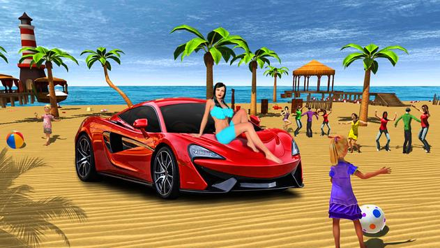 Miami Crazy Beach Summer Holidays Party 3D poster