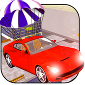 Crazy Driver Rooftop Run 3D icon