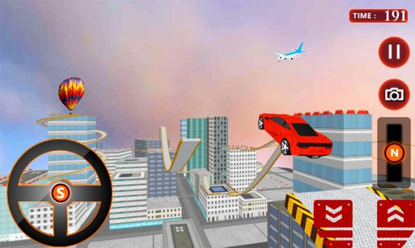 Crazy Driver Rooftop Run 3D apk screenshot