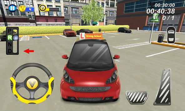 Driving School Parking 3D 2 apk screenshot