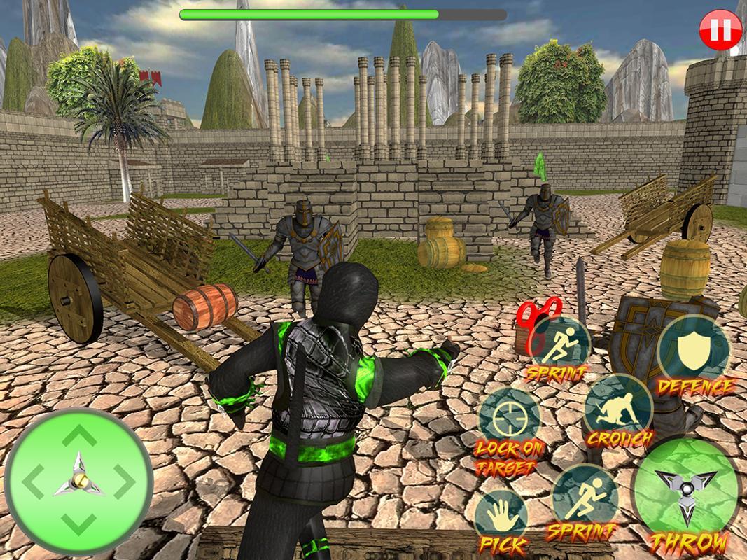 Ninja Assassin Fidget Spinner Shadow Ninja Fighter For Android Apk