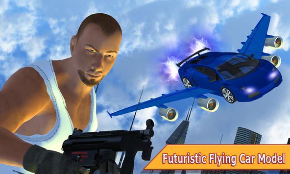 Flying Car Gangster LA apk screenshot