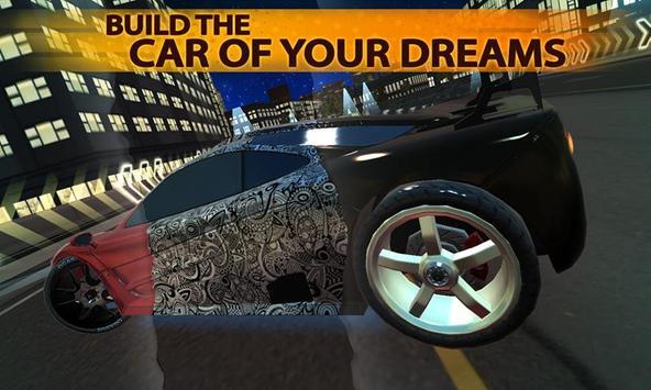 Freeway Fury Car Racing 3D poster