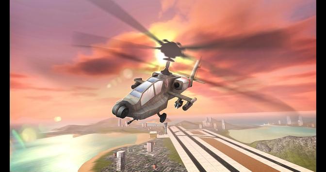 Gunship Airstrike Battle 3D apk screenshot