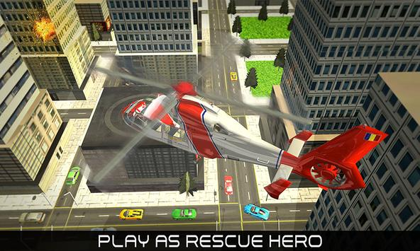 Helicopter Rescue Hero 2017 poster
