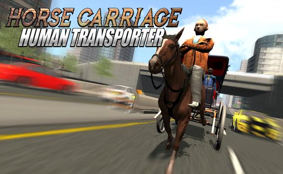 Horse Carriage Human Transport apk screenshot