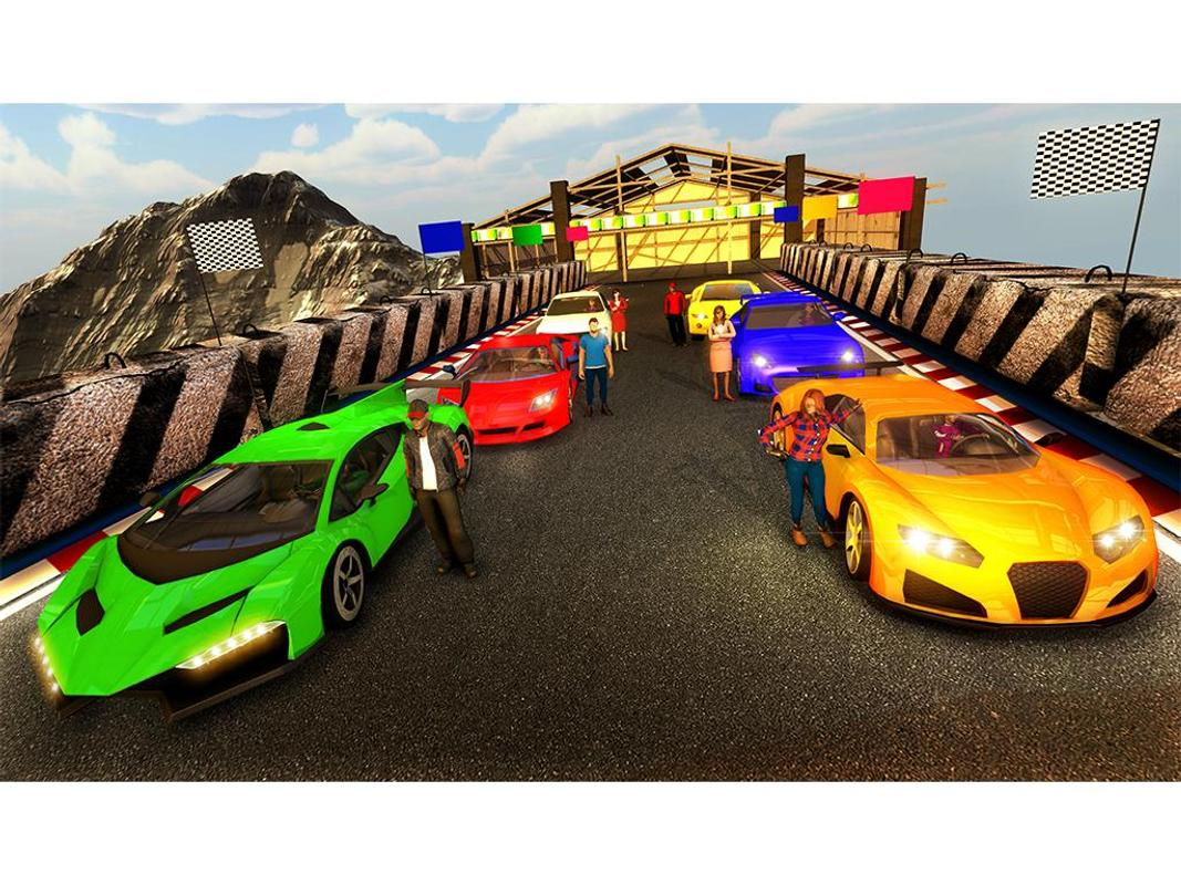 Car Stunts: Extreme Jeep Car Stunts Driving: Car Stunt Racing For