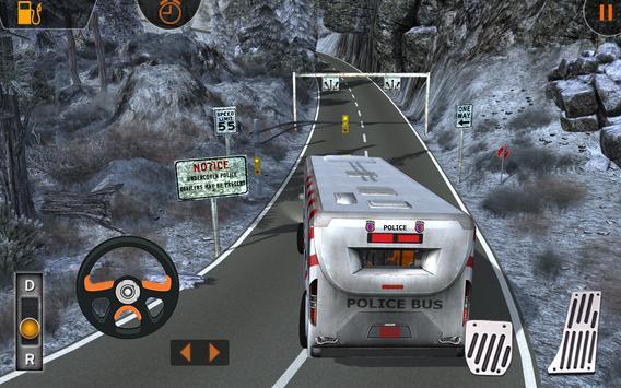 Police Bus Prisoners Transport apk screenshot