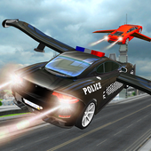 Police Car Flying Chase icon