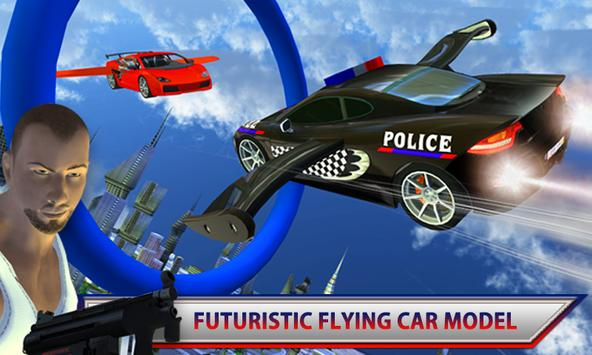Police Car Flying Chase poster