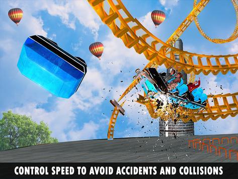 Roller Coaster Crazy Sky Tour screenshot 12