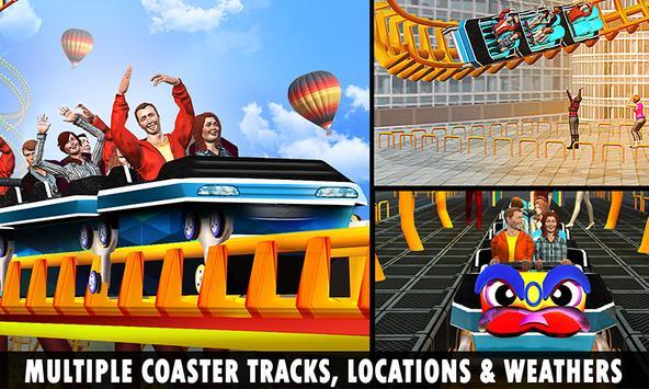 Roller Coaster Crazy Sky Tour screenshot 4