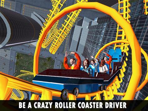 Roller Coaster Crazy Sky Tour screenshot 5