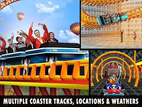 Roller Coaster Crazy Sky Tour screenshot 9