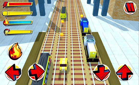 Supercar Subway Cartoon Racer poster