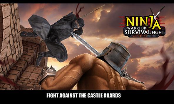 Ninja Warrior Survival Fight poster