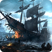 Ships of Battle: Ages of Pirates -Wars 'n Strategy icon