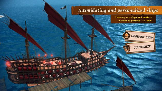 Ships of Battle: Ages of Pirates -Wars 'n Strategy screenshot 2