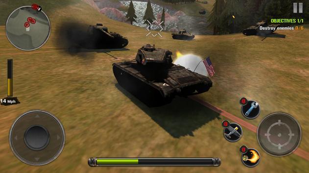 Tanks of Battle: World War 2 स्क्रीनशॉट 10