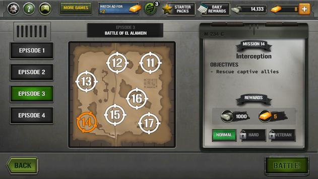 Tanks of Battle: World War 2 स्क्रीनशॉट 6