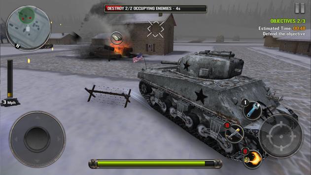 Tanks of Battle: World War 2 स्क्रीनशॉट 7