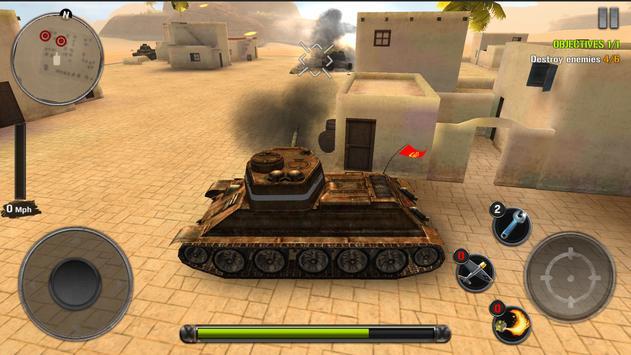 Tanks of Battle: World War 2 स्क्रीनशॉट 9
