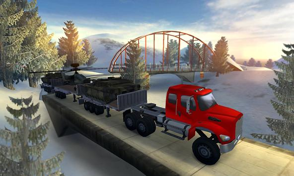 Transport Truck Up Hill Climb apk screenshot