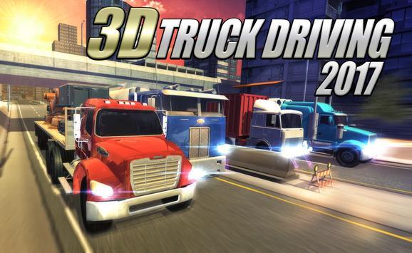 3D Truck Driving 2017 poster