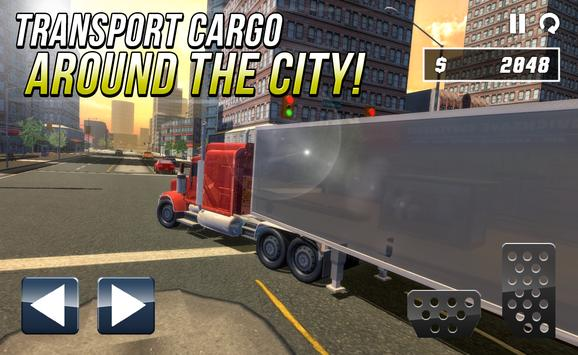 3D Truck Driving 2017 apk screenshot