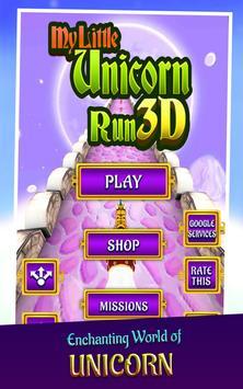 🦄 My little unicorn runner 3D screenshot 12