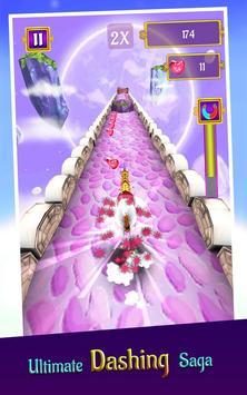 🦄 My little unicorn runner 3D screenshot 1
