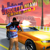 Vendetta Miami Crime Sim 3 icon